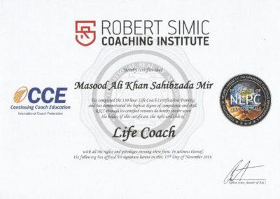 RSCI Life Coach Certificate