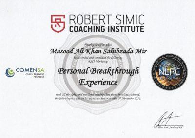 RSCI PBE Certificate