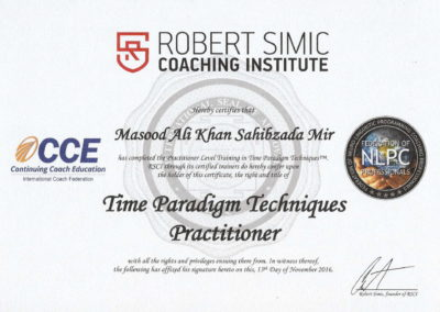 RSCI TPT Practitioner Certificate